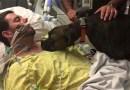 Собаке разрешили посетить больницу и попрощаться с умирающим хозяином.