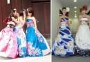 Невесты Японии превращают традиционные кимоно в необыкновенные свадебные платья.