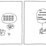 Черный исландский юмор в комиксах Хуглекура Дагссона.