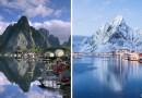 Как выглядят разные уголки нашей планеты зимой и в любое другое время года.