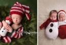 15 фотографий с малышами, которые уже готовы встречать Новый Год и Рождество.