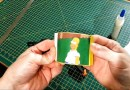 Реддитер распечатал GIF-картинку с Гомером Симпсоном в кустах. [Видео]