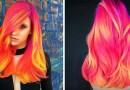 Новый тренд среди девушек и женщин — светящиеся в темноте волосы.