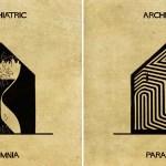 Эти рисованные архитектурные сооружения объясняют 16 психических заболеваний и расстройств.