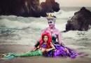 7-летняя девочка и ее мама создают косплей-костюмы диснеевских персонажей, и многие из них действительно шикарны.