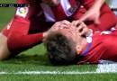 Футболист Фернандо Торрес потерял сознание на поле, чем очень обеспокоил свою команду и болельщиков. [Видео]