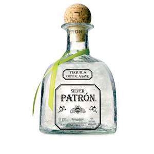Silver Patron is a great margarita tequila