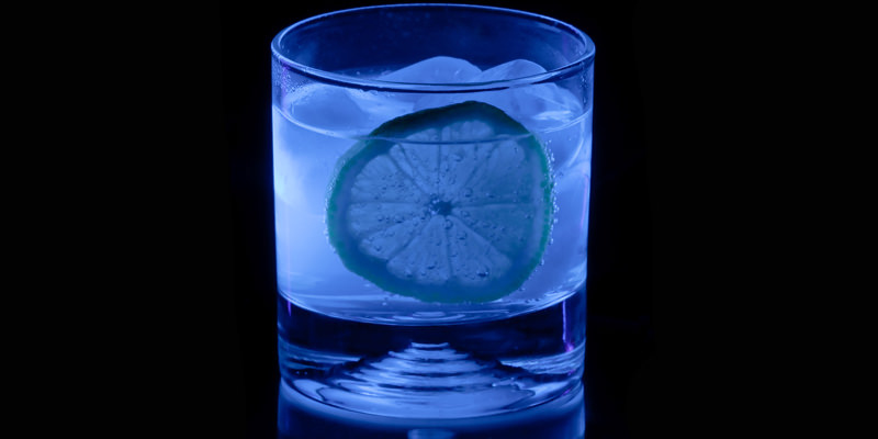 Glowing Gin and Tonic