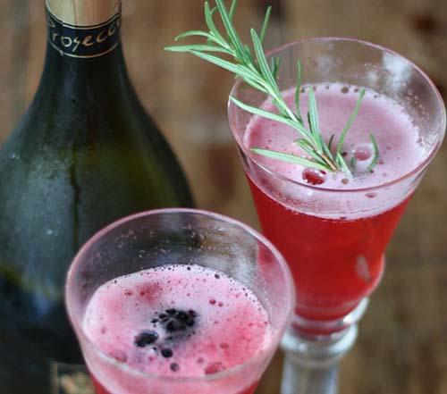 Blackberry Herb Cocktail