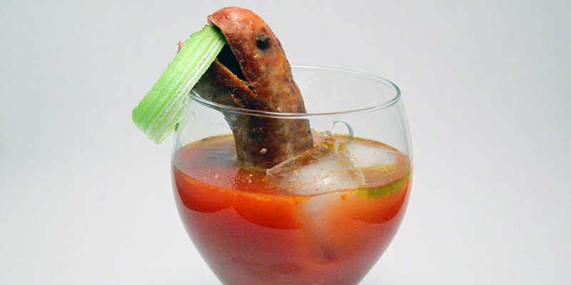 9 Bizarro Cocktail Garnishes