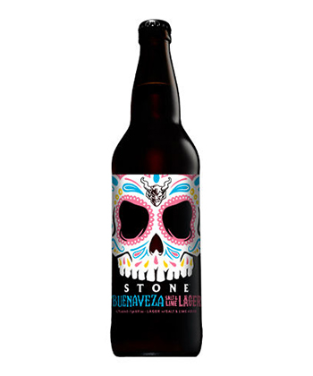 Stone Brewing Buenaveza Salt & Lime Lager is one of the Five best Mexican-Style Lagers to Try