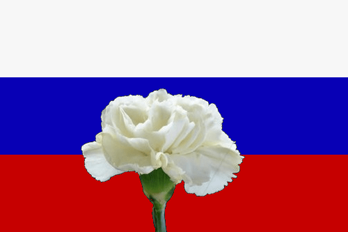 Trauer um russische Opfer