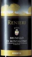 2011 Brunello Riserva Renieri 93 points on Wine Spectator!