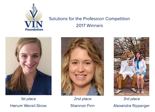 VIN Foundation | Supporting veterinarians to cultivate a healthy animal community | Resources | Solutions for the Profession Veterinary Student Essay Competition