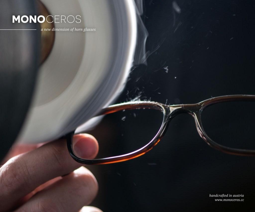 Monoceros hoornen brillen bij optiek Vingerhoets-Optics te Mechelen