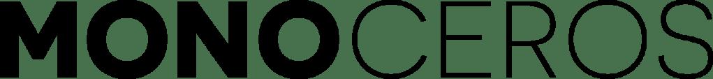 MONOCEROS hoornen monturen logo