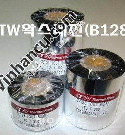ITW Premium Ribbon Wax Resin B128