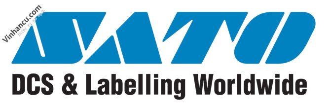 logo máy in mã vạch công nghiệp sato