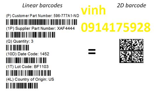 Mã vạch là gì, Mã QR Mã Vạch Barcodes và RFID, Phân biệt mã vạch barcodes và mã qr codes