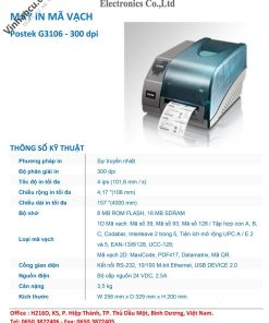 Báo giá Postek G3106 300 DPI rẻ nhất