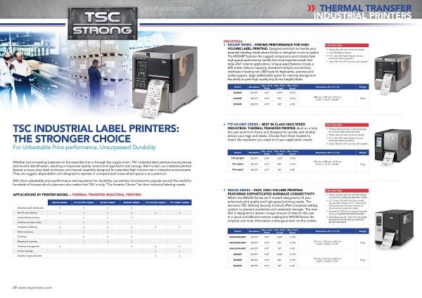 máy in tem nhãn mã vạch TSC