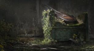 Last of Us: Part II - Fan Art - Main Menu