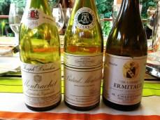 Três grandes brancos franceses