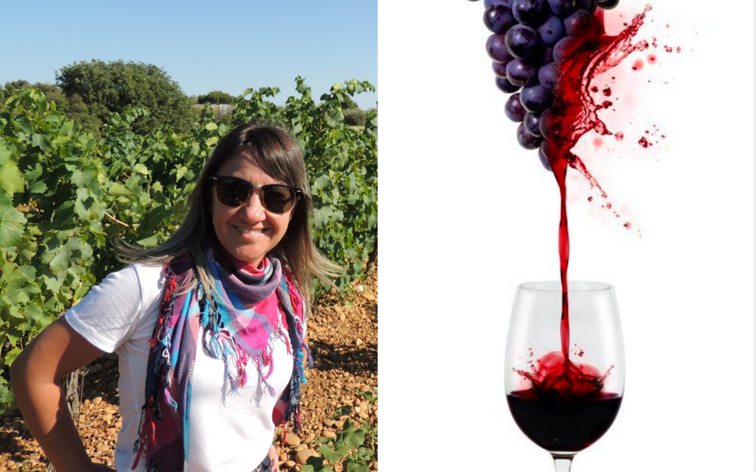 Rafa com o vinho