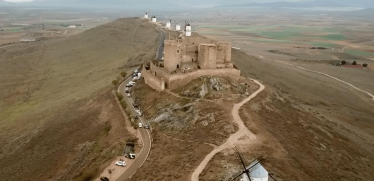 Castelo e os Moinhos de Consuegra
