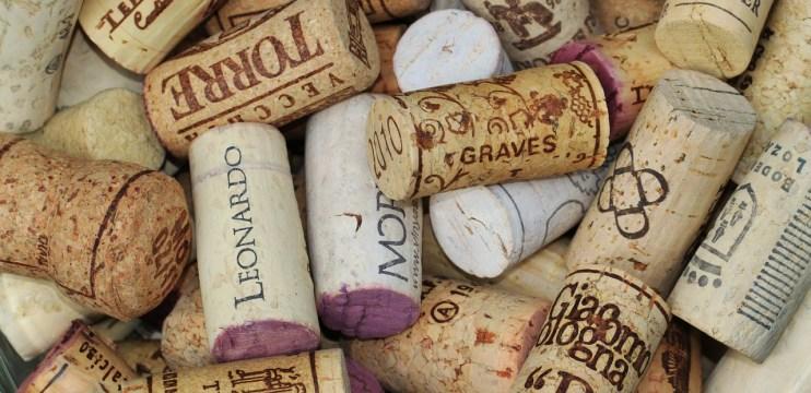 Tipos de rolhas para vinho