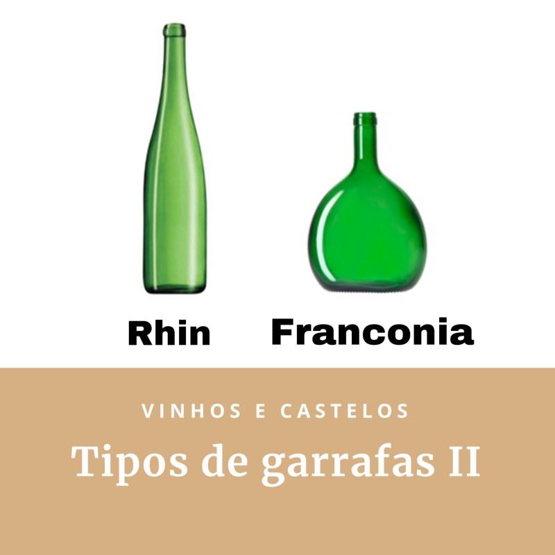 Tipos de garrafas de vinho – parte II