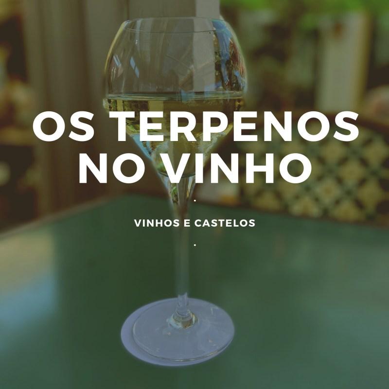 O que são os terpenos no vinho