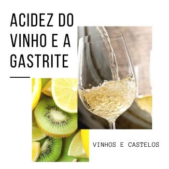 Acidez do vinho e a gastrite estomacal