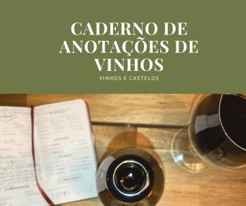 Caderno de anotações de vinhos