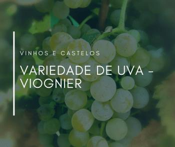 Variedade de uva: Viognier
