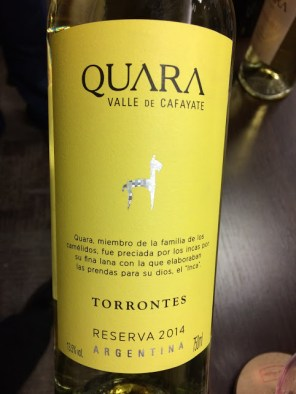 world wine quara torrontes reserva