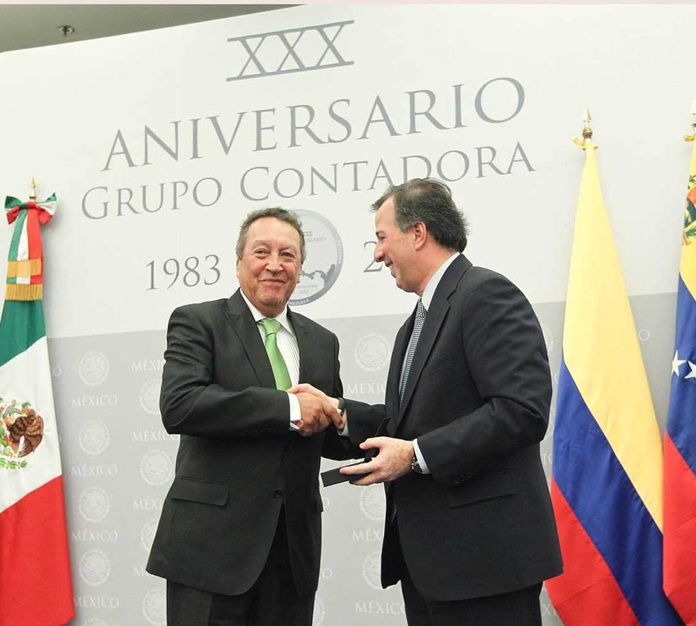 Reconocimiento del Gobierno y a la Secretaria de Relaciones Exteriores de México