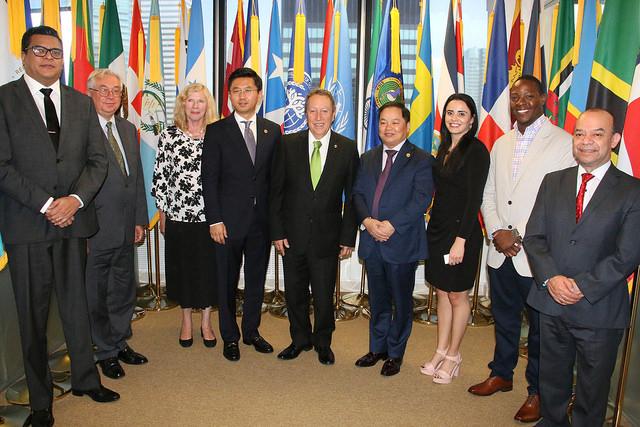 Secretario General del SICA impulsa proyectos cooperación para el desarrollo sostenible