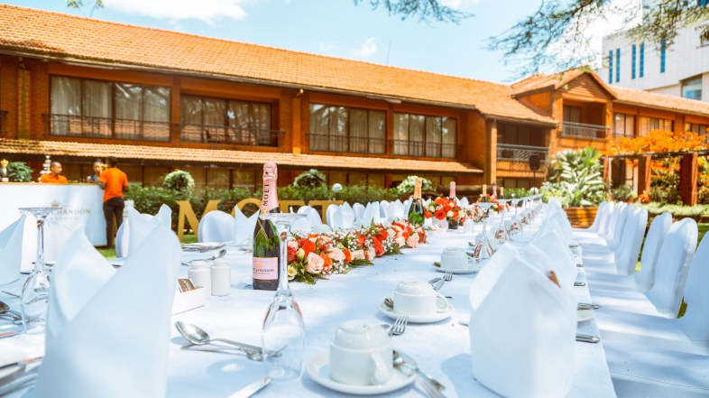 A bespoke supper high tea with Moët & Chandon: a delectable affair in Nairobi