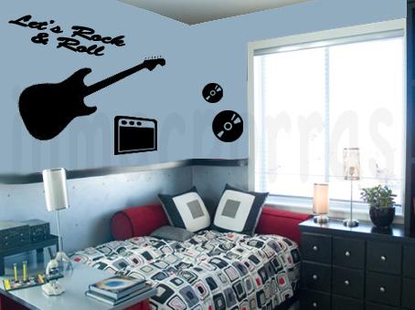 dormitorio-juvenil-con-guitarra-electrica-marca-agua