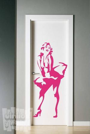 Vinilo decorativo Marilyn Monroe falda