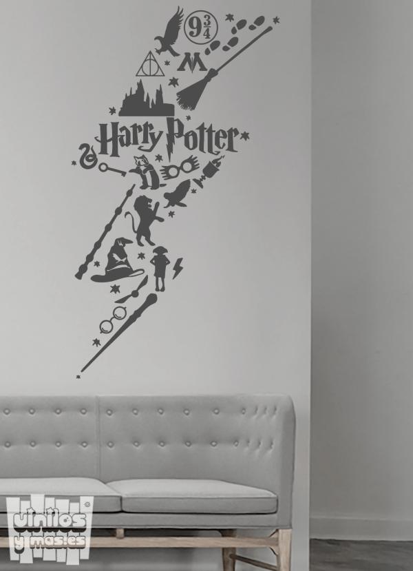 Vinilo decorativo Harry Potter rayo