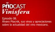 Podcast Vinísfera 08: Álvaro Ptacnik (Vinos Shimul), sus uvas y etiquetas
