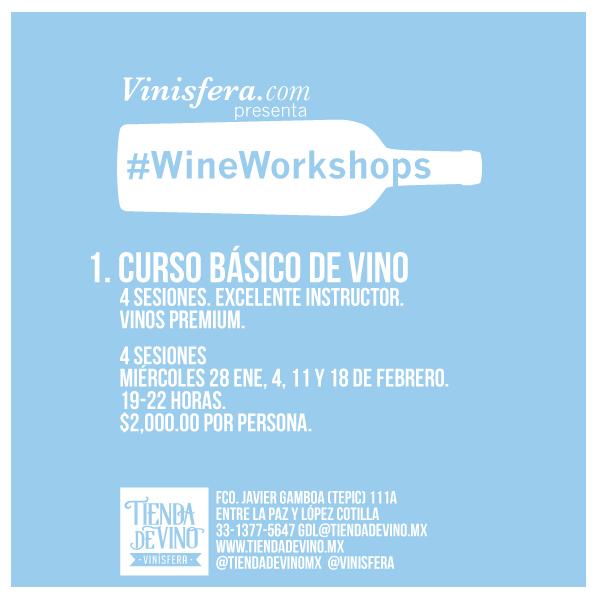 #GDL: Toma un curso básico de vino en Vinísfera.