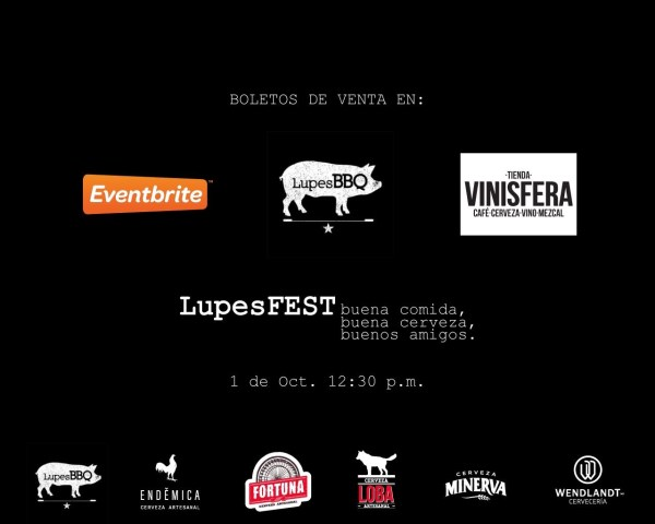Lupes Fest Boletos