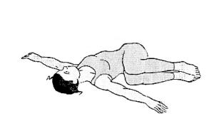 Jathara parivritti (ardha)