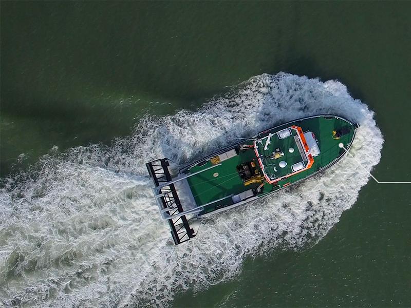 Dutch Dredging – Nieuw schip 'De Peter'