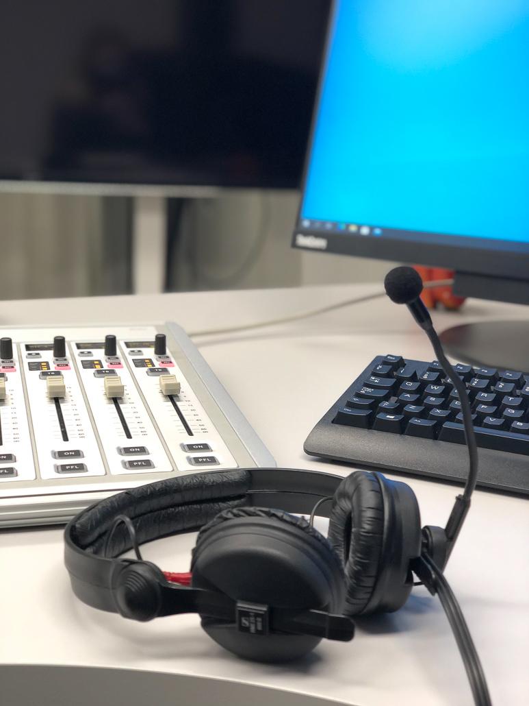 Mitä kuuluu kampus? -podcast. kuva: Iina Tauriainen.