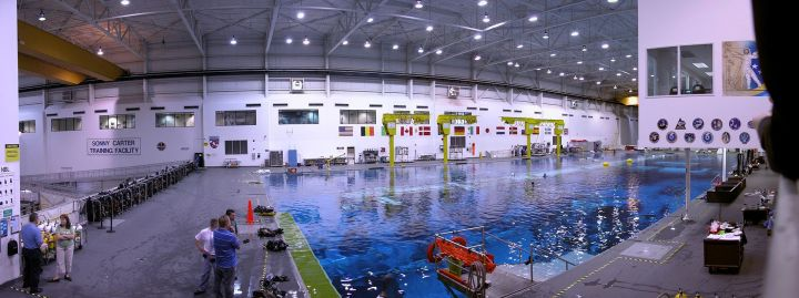 NASA - Neutral Buoyancy Lab Image Courtesy: Wikipedia Commons