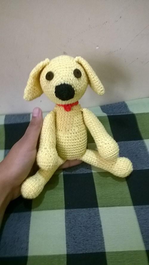Crochet Labrador